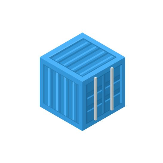 Logo vettoriale container
